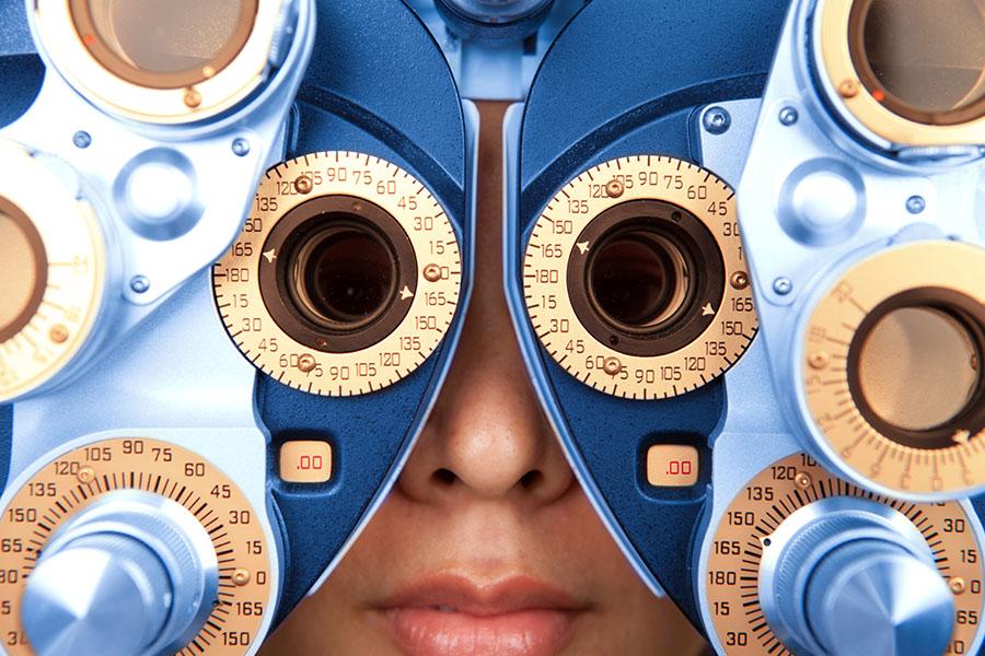Adult Senior Eye Exam