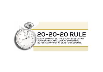 Visual Hygiene (20-20-20 Rule) - Precision Eye Care